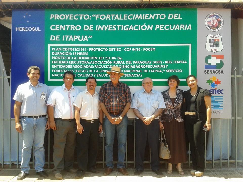 Regional Itapúa de la ARP inaugura obras civiles en el CIPI