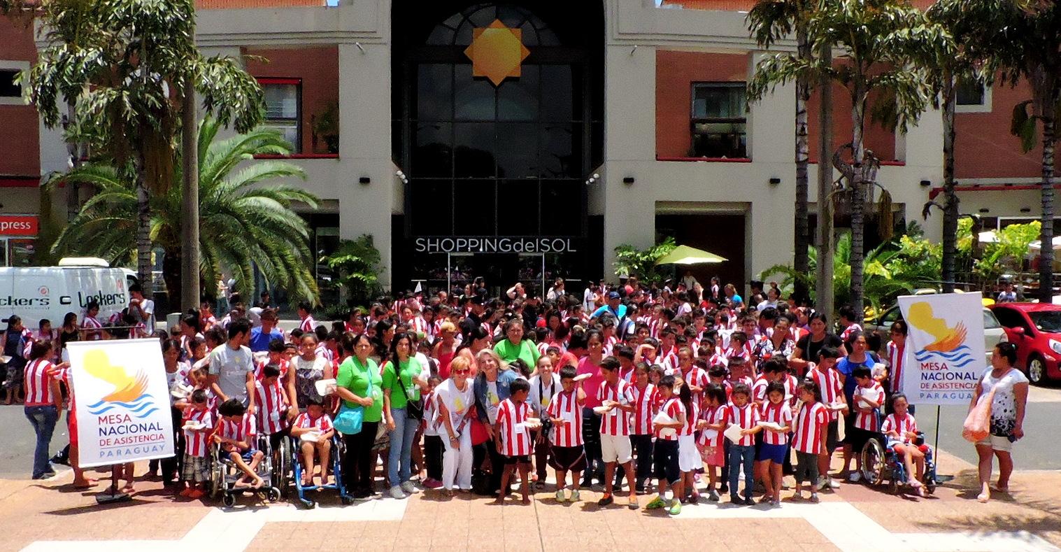 El Sol abrió sus puertas a unos 450 niños/as damnificados