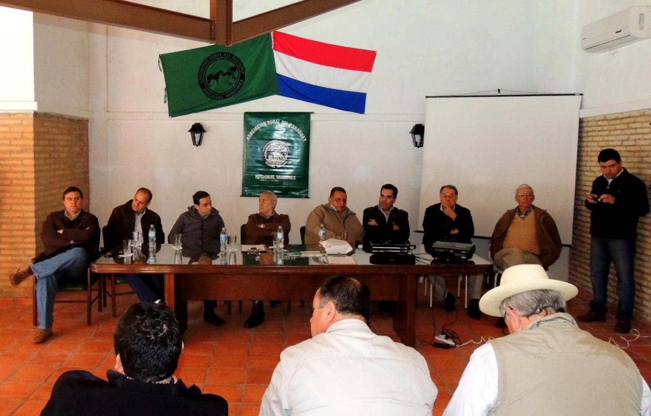 Regional Misiones pidió seguridad y frenar el abigeato