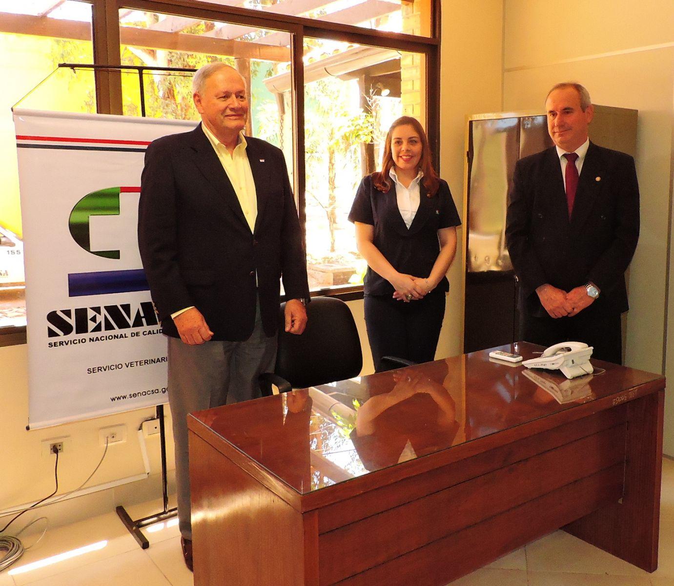 SENACSA habilitó oficina expendedora de COTA en la ARP