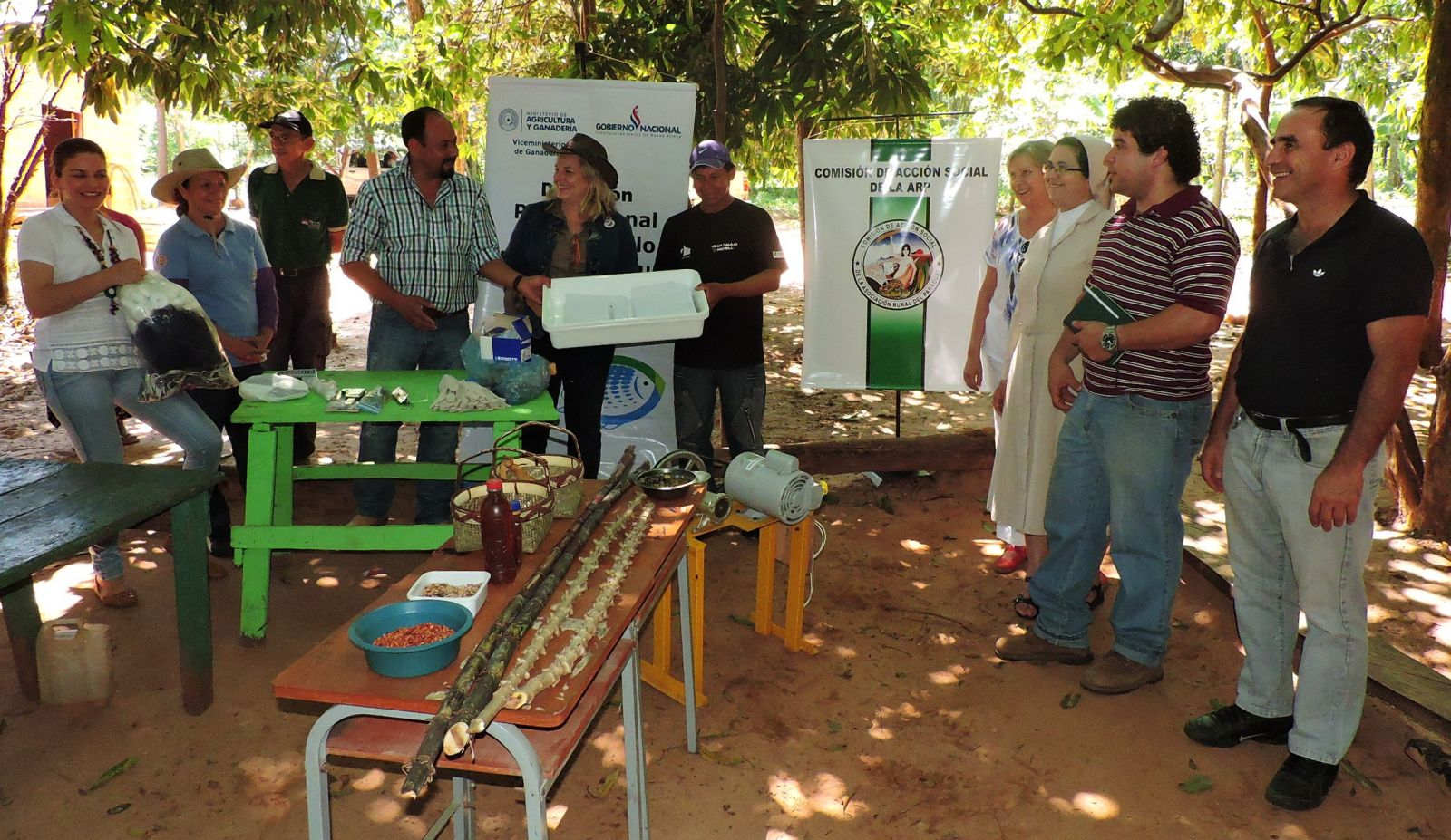 Campitos implementará Granja Agroacuícola integral Modelo