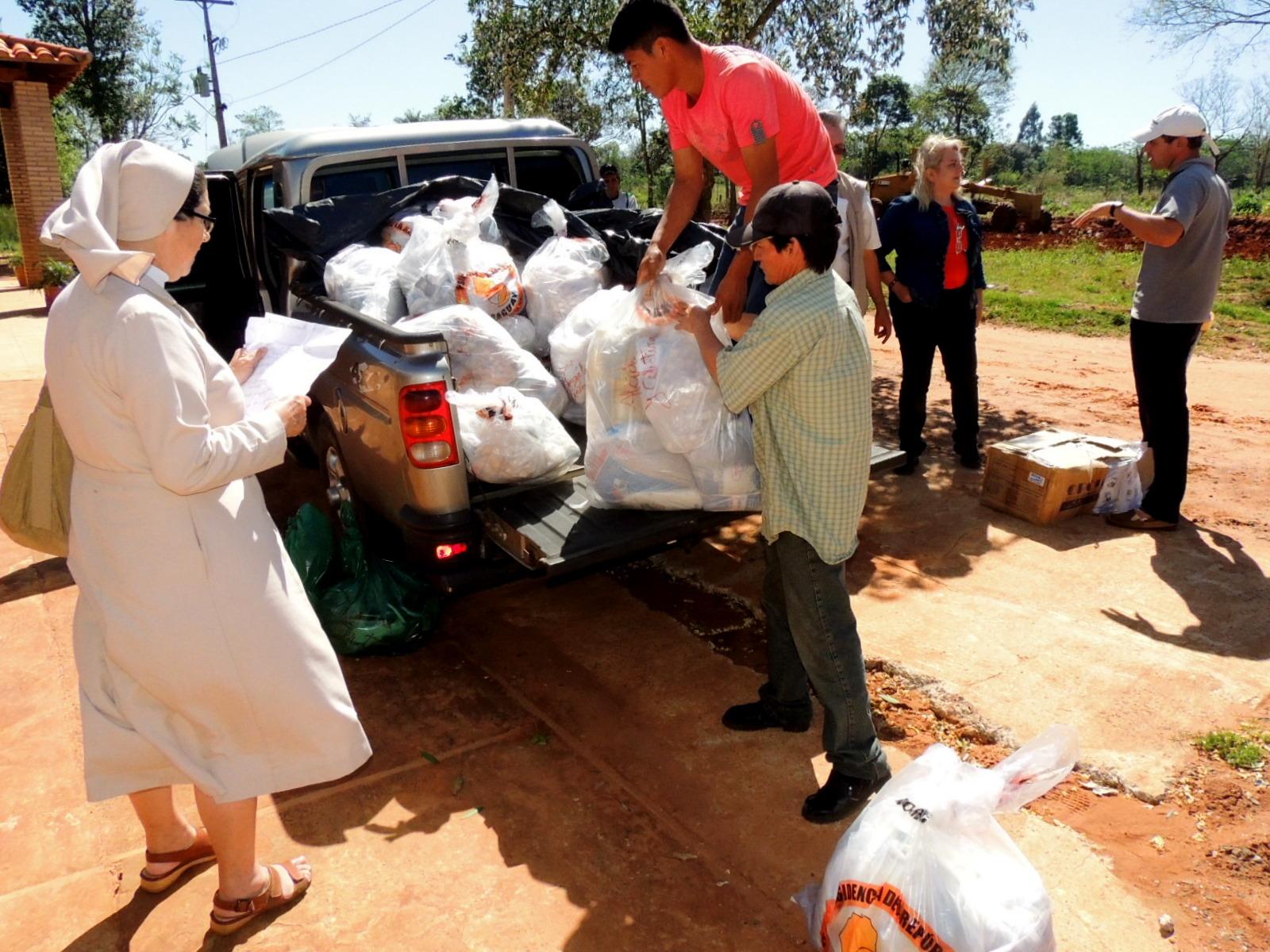 CAS entregó kits de víveres a 2 comunidades de la ATPO