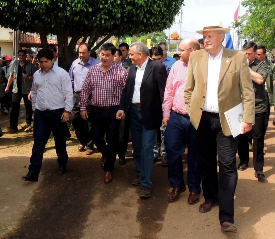 Presidente de la República se reunió con productores en la Expo Norte