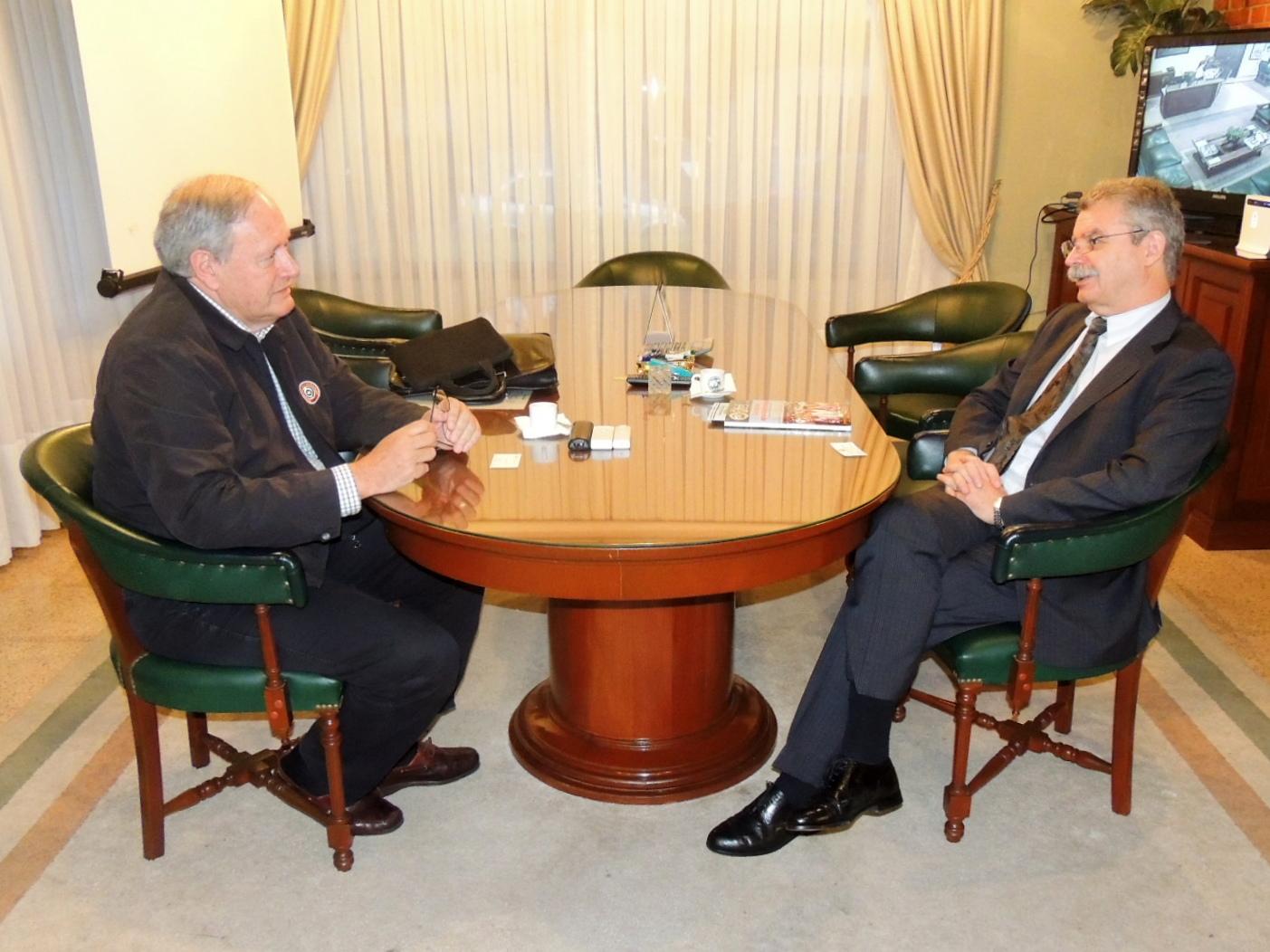Embajador de Alemania visitó por primera vez la ARP