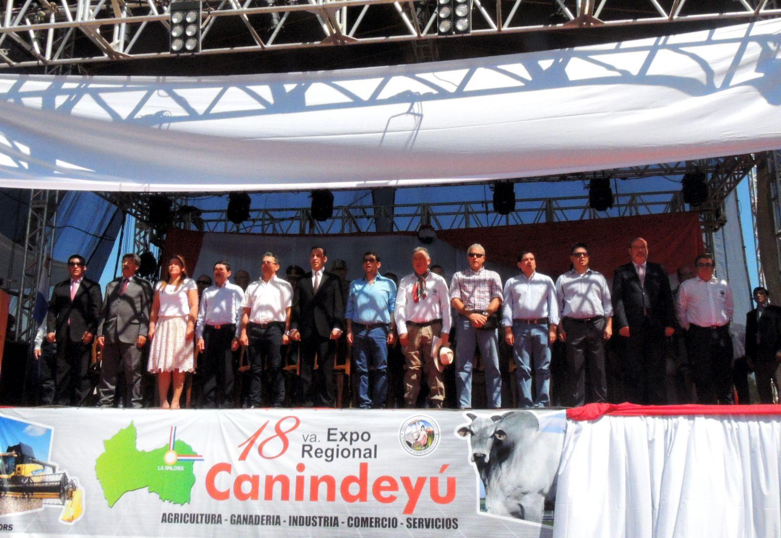 """""""Expo Canindeyú es la muestra de cómo la voluntad se impone siempre a la adversidad"""""""