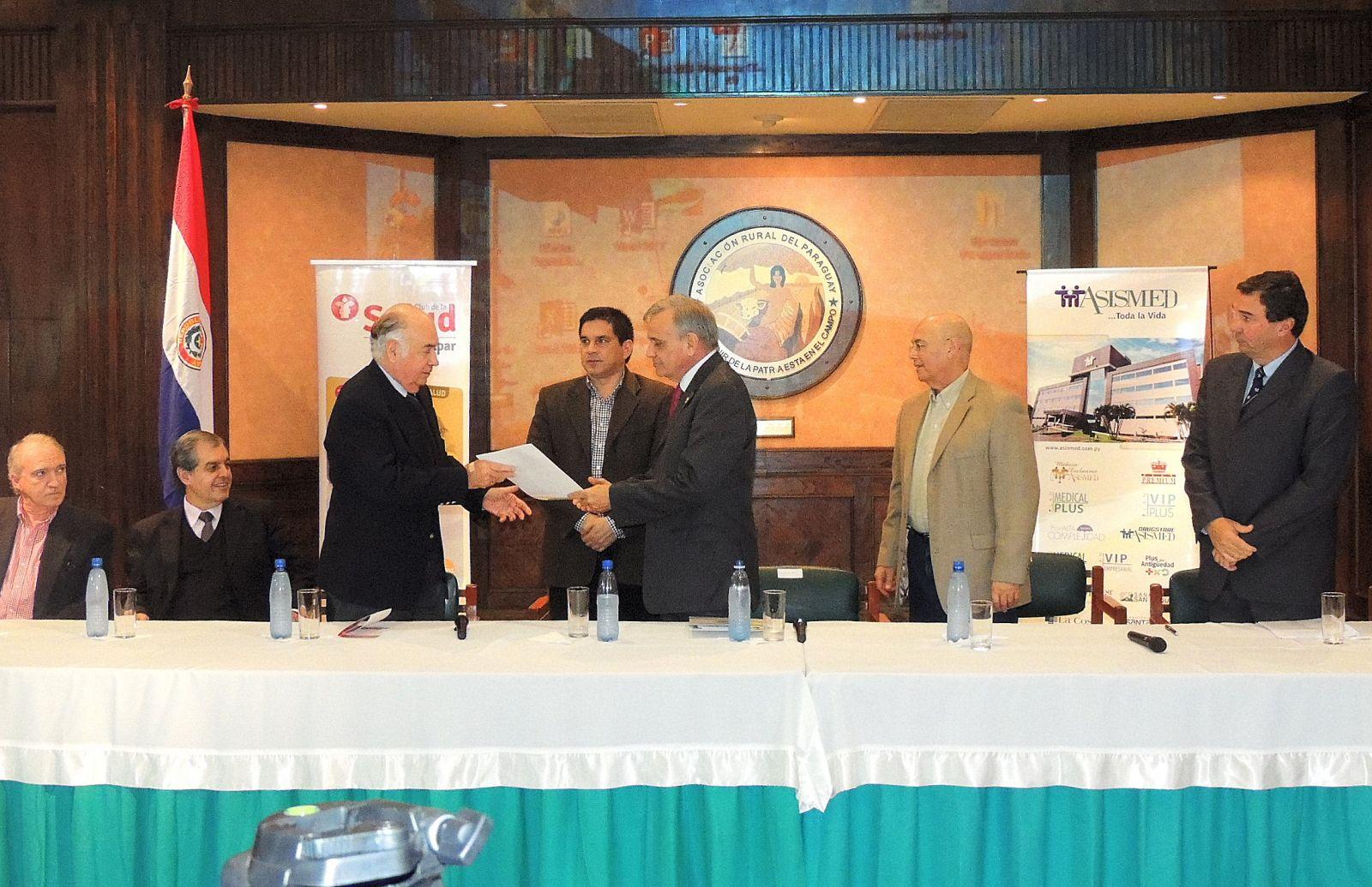ARP acuerda cobertura médica para sus socios con la empresa ASISMED S.A.