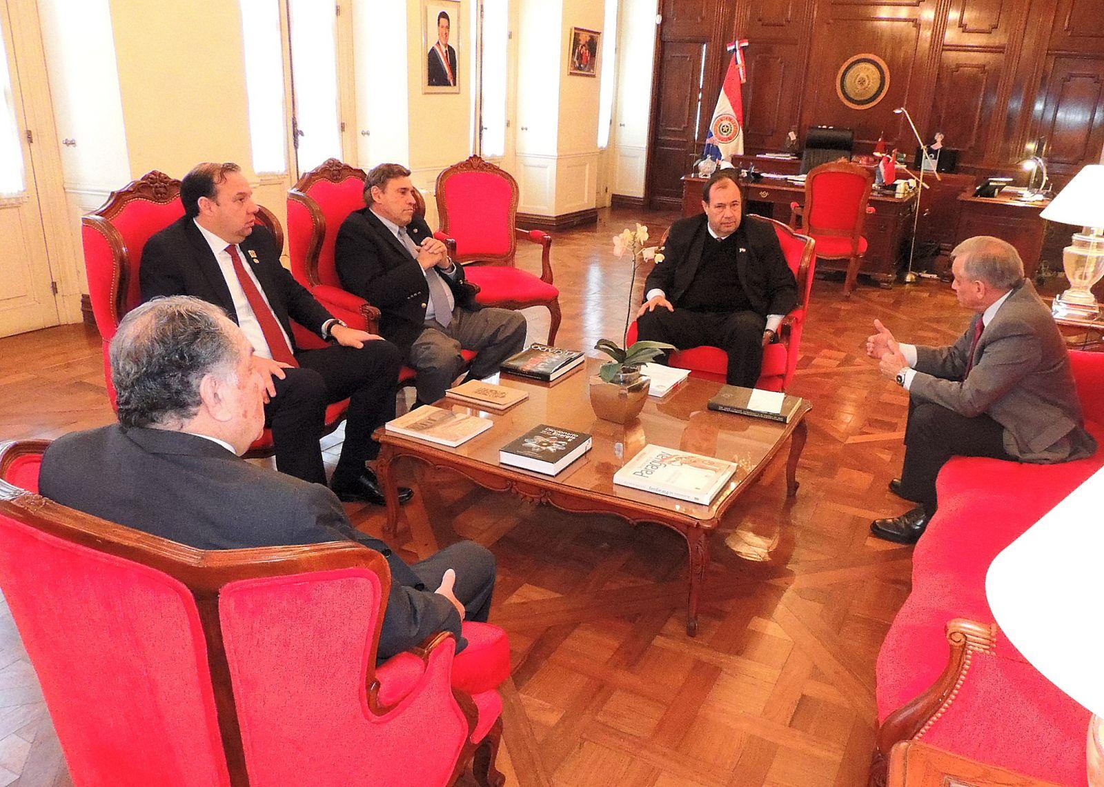 Vicepresidente de la República recibió en audiencia a directivos de la Expo