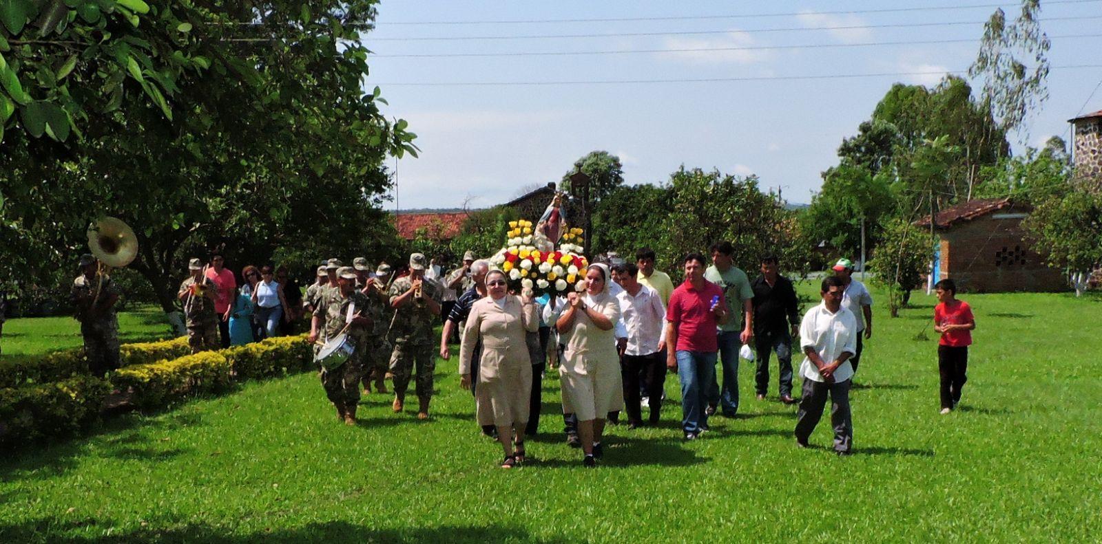 Festiva jornada en Leprocomio Santa Isabel de Sapucái