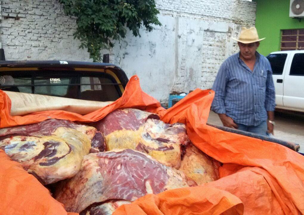 CONALCART Norte incautó cargamento de carne de dudosa procedencia