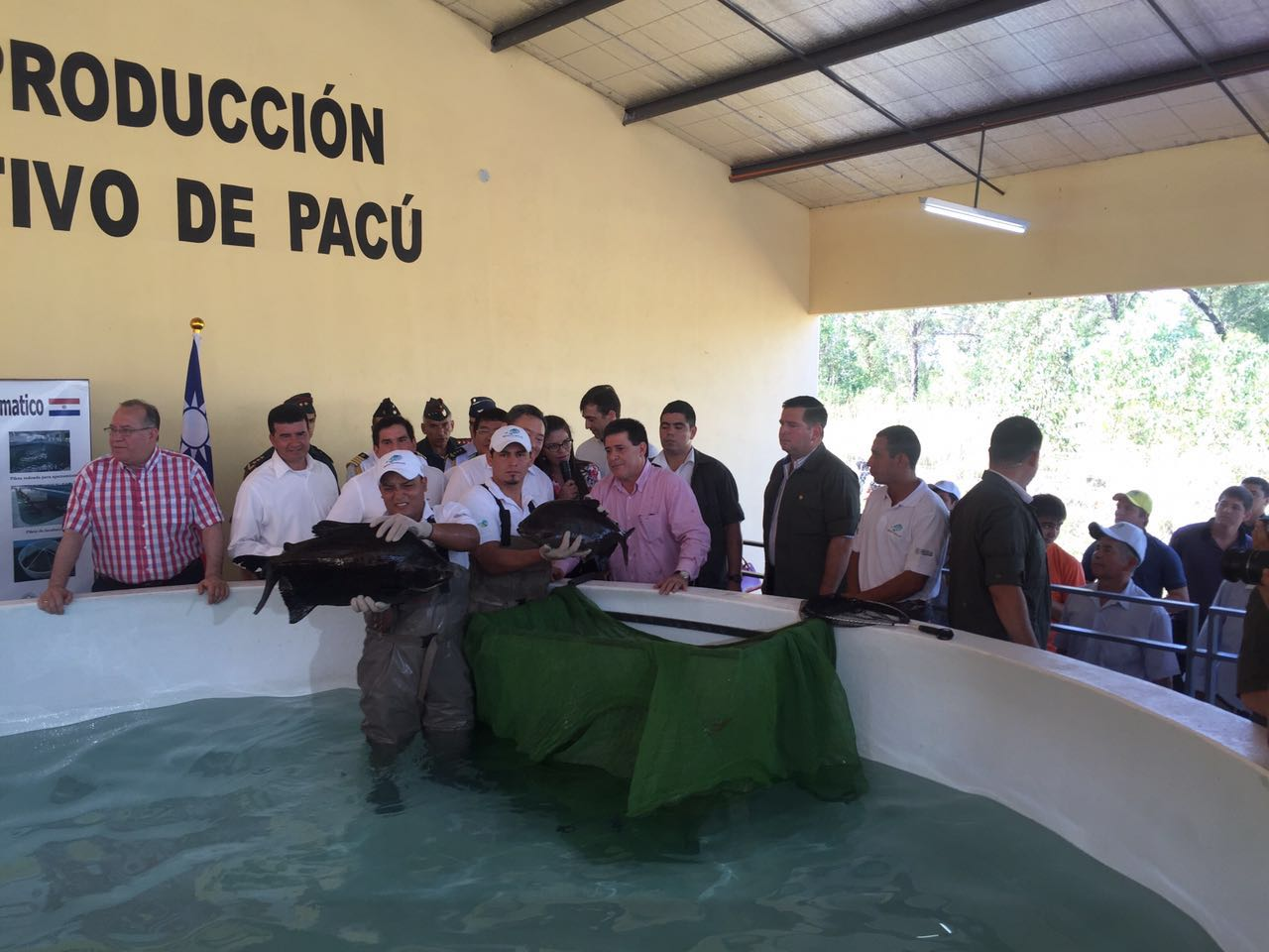 Inauguraron laboratorio de alevines más grande y moderno de Latinoamérica