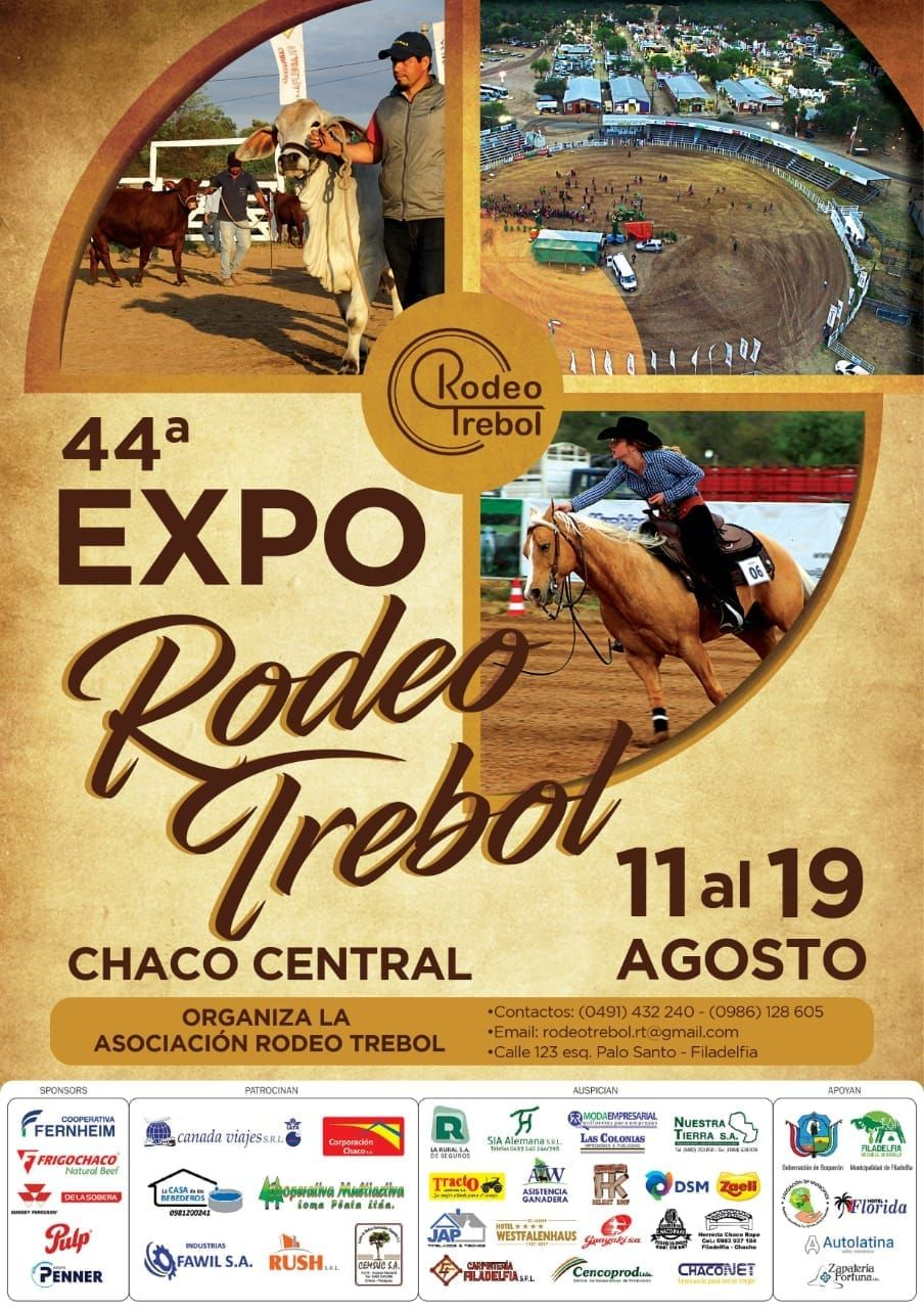 44ª Expo Rodeo Trébol