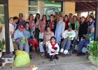 Embajadores visitaron Leprocomio Santa Isabel