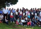 Jornada rural con alumnos del Colegio Santa Clara de Atyrá