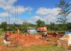 Inició construcción de panadería en la Comunidad Kambay de Caaguazú