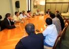 Comisión de Defensa de la Propiedad Privada se reunió con Ministro del Interior