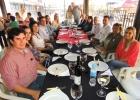 Almuerzo de confraternidad de la Regional Gral. Bruguéz en el marco de la Expo