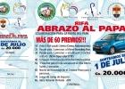 """El Miércoles 1º de julio será el gran sorteo de la rifa """"ABRAZO AL PAPA"""