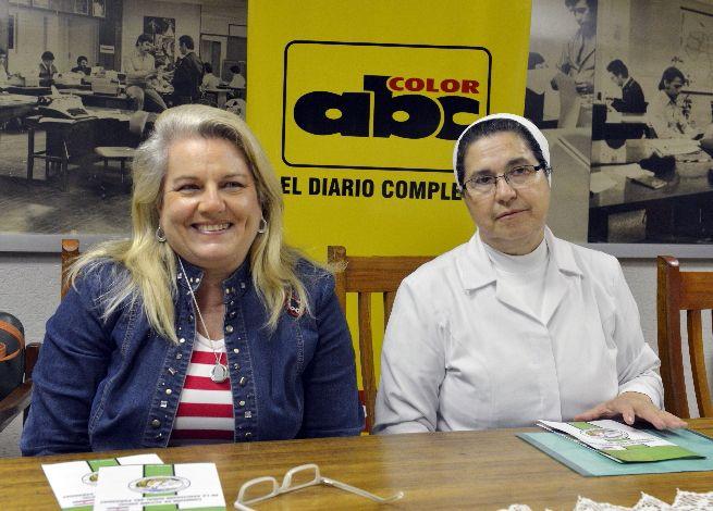 María Yolanda Moreno de Ruíz y Hna. Ramona Espínola