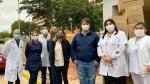 Asociaciones de Criadores de la ARP donan elementos de bioseguridad para médicos del IPS